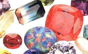 Виды полудрагоценных камней