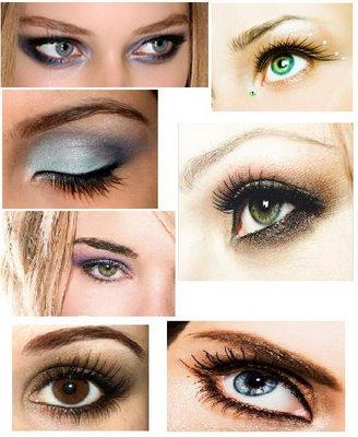 макияж и форма глаз